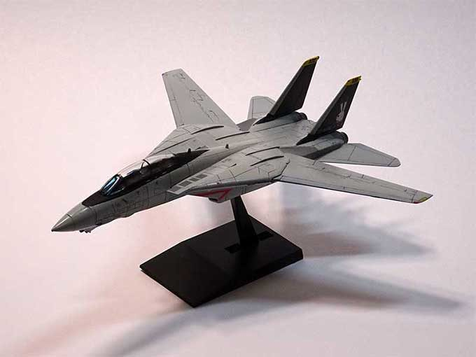 F-14Aトムキャットプラモデル完成写真
