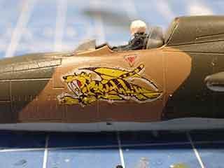 機体側面のパーソナルマーク