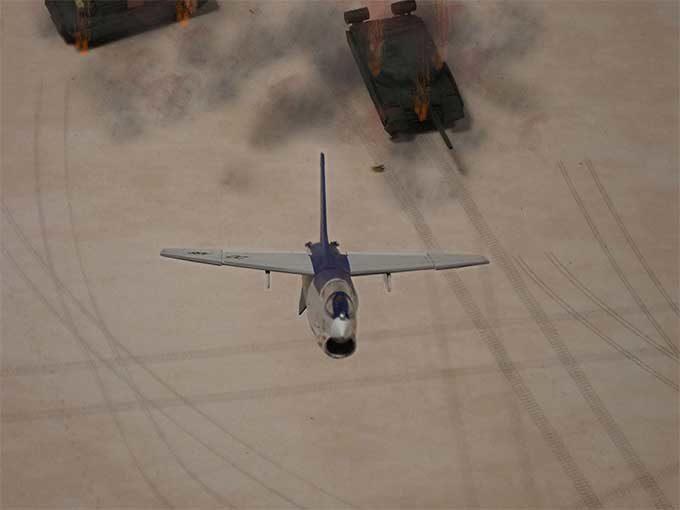 離脱上昇するF-8E