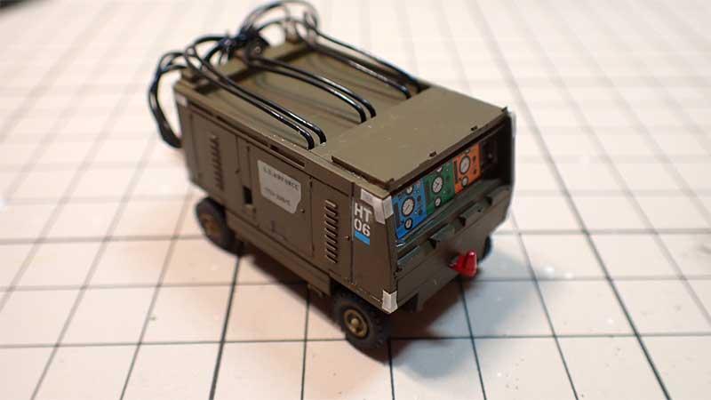 製作したテ油圧テストスタンド
